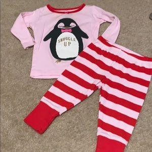 🌈4/$25🌈 Oshkosh Girls Winter Pajamas